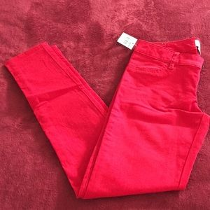 Abercrombie kids red jeans